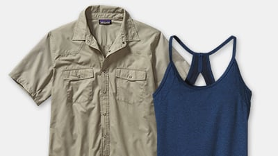 Shop Patagonia products with bluesign™ approved fabrics