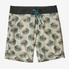 M's Stretch Planing Boardshorts - 19 in., Palms of My Heart: Dyno White (PHDW)