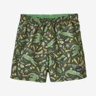 Baby Baggies® Shorts - Alligators and Bullfrogs: Kale Green (ABKG)
