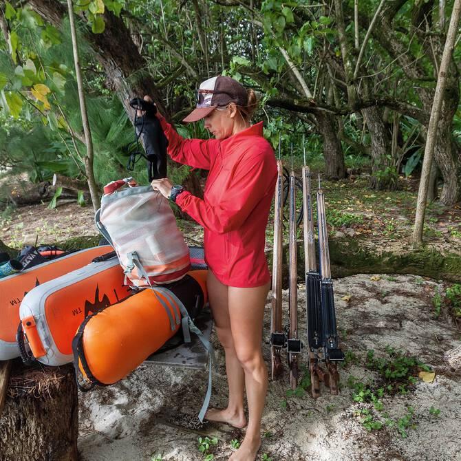 Zaini e attrezzature per il surf