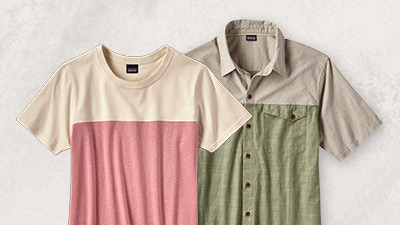 Shop Patagonia clean color products